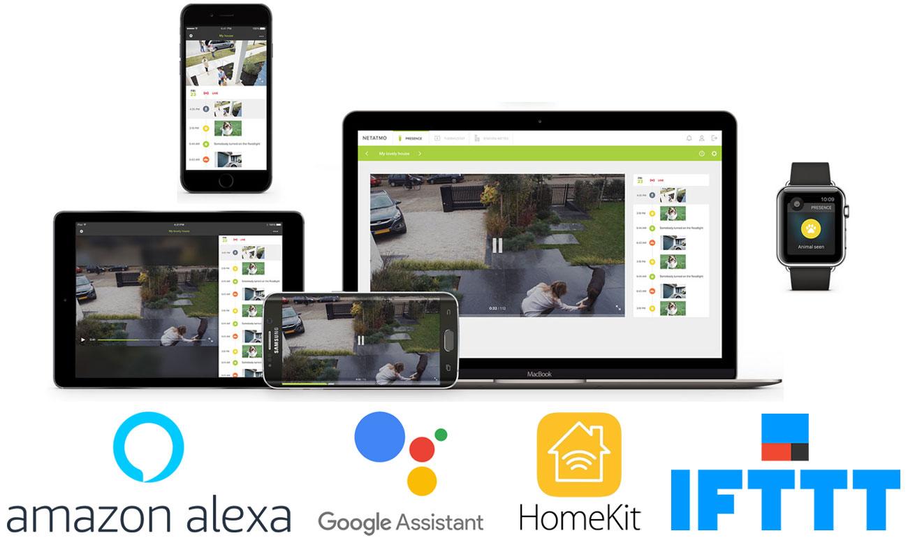 Aplikacja do kamery IP Netatmo PRESENCE