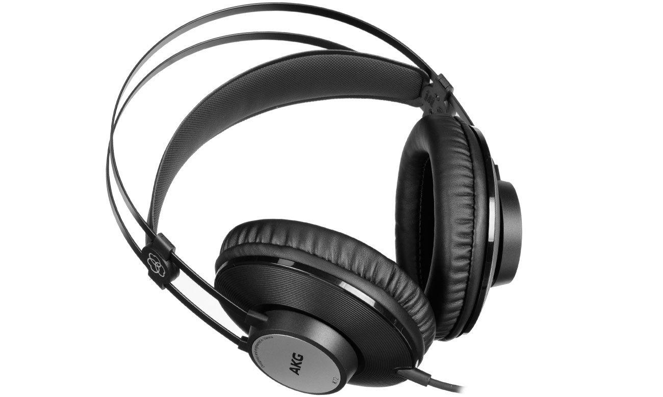 Odpinany kabel w słuchawkach AKG K72