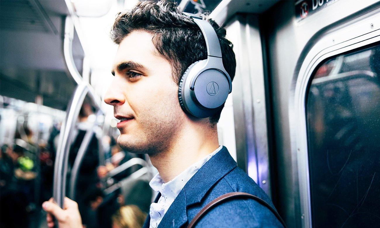 Aktywna redukcja szumów w słuchawkach Audio-Technica ATH-ANC700BT