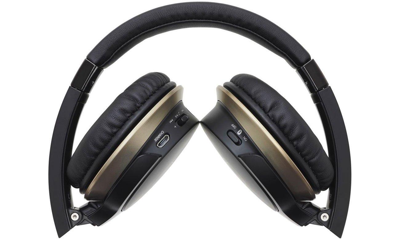 Słuchawki bezprzewodowe Audio-Technica ATH-AR3BT czarne