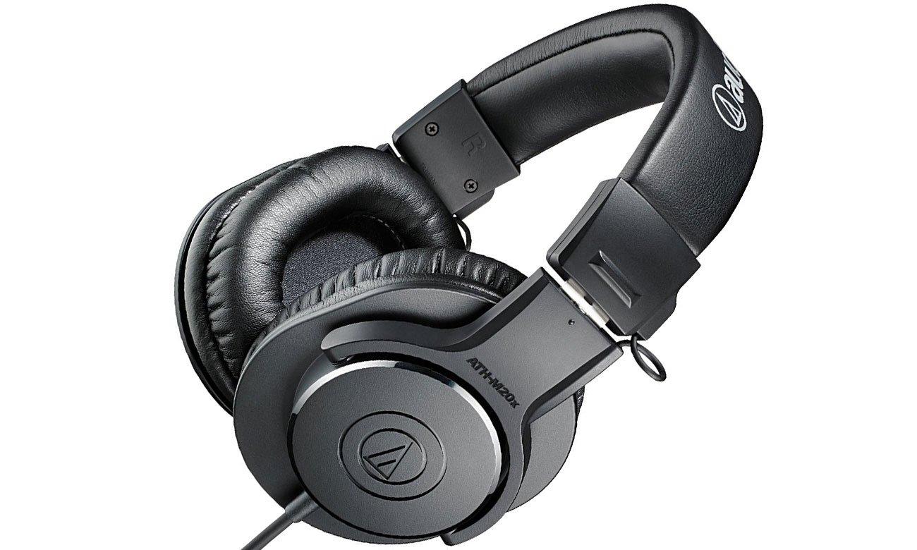 Wydajna przetworniki w słuchawkach Audio-Technica ATH-M20X