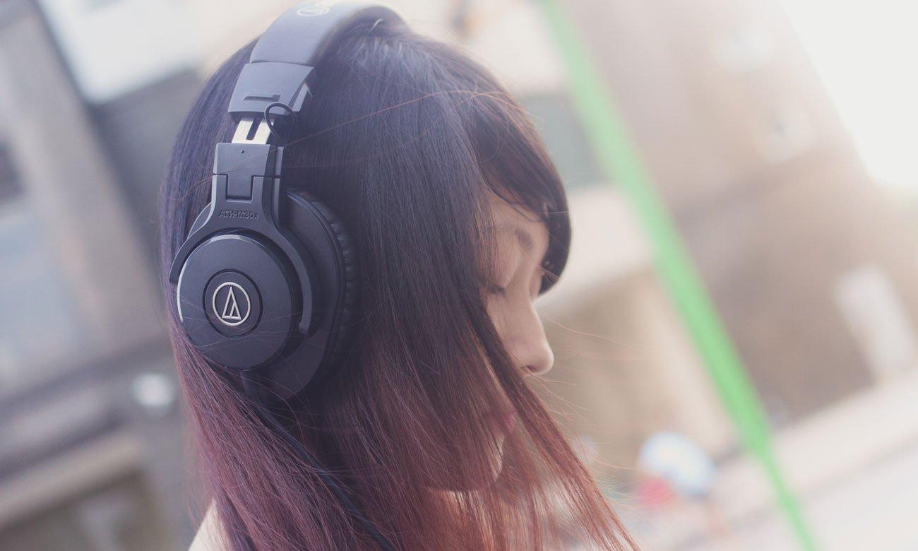 Wydajna przetworniki w słuchawkach Audio-Technica ATH-M30X
