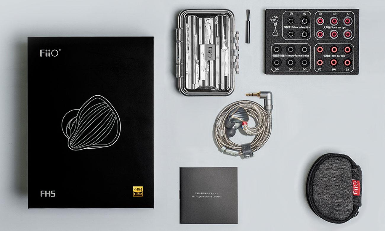 Akcesoria do słuchawek FiiO FH5 titanium