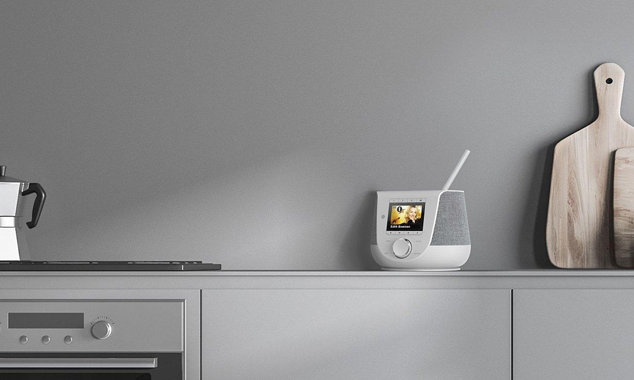 internetowe radio Wi-Fi DIR3200SBT Hama białe