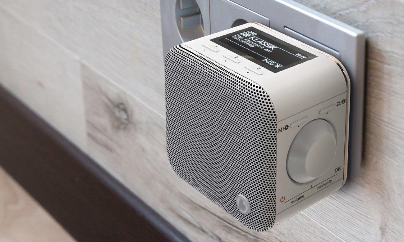 Internetowe radio Wi-Fi IR40MBT Hama białe