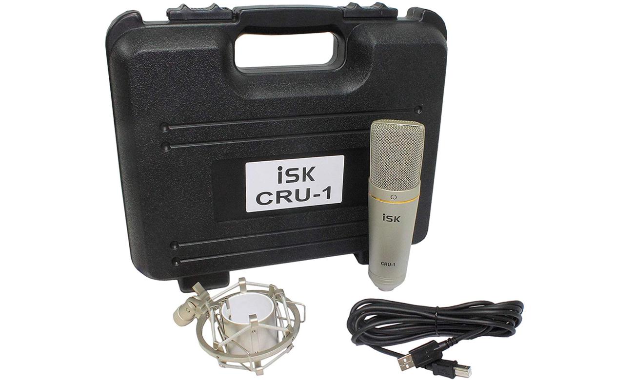 Mikrofon studyjny ISK CRU-1 USB