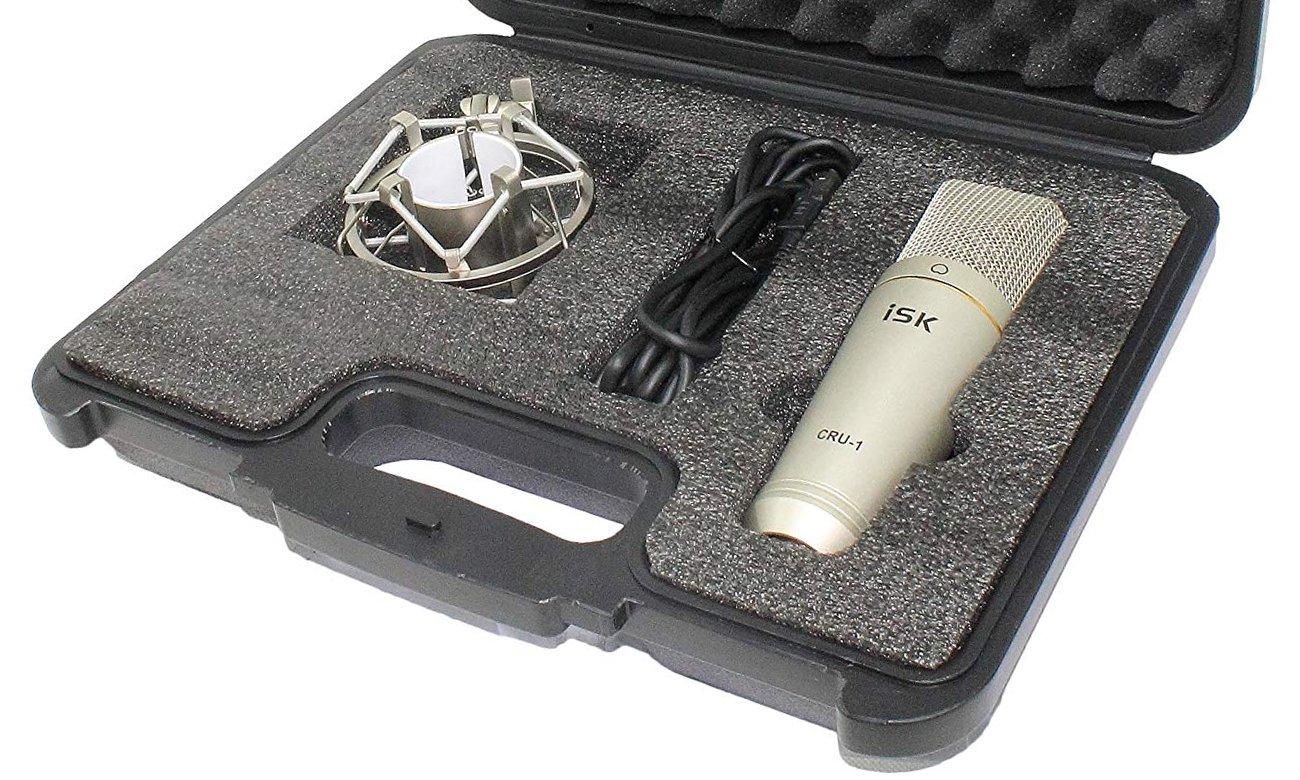 Kompatybilność i użytkowanie mikrofonu ISK CRU-1 USB
