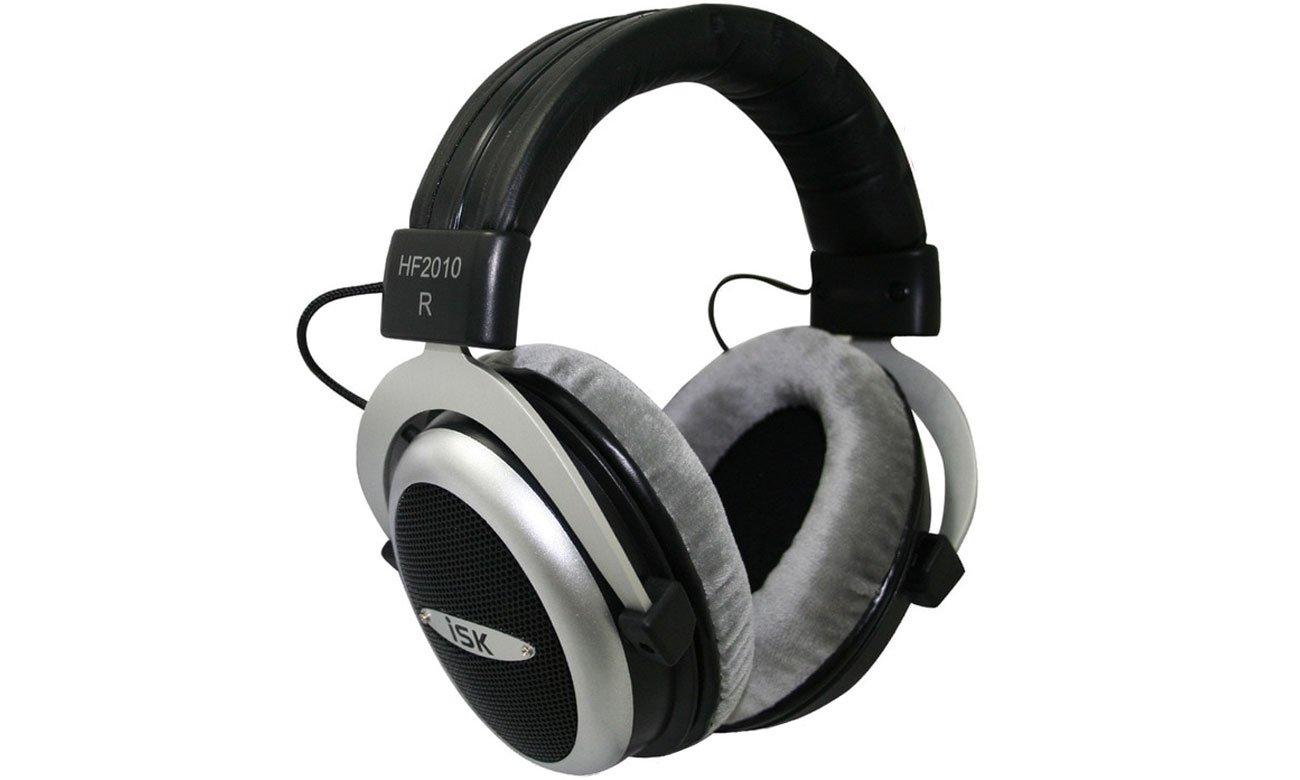 Wygląd słuchawek nausznych ISK HF2010