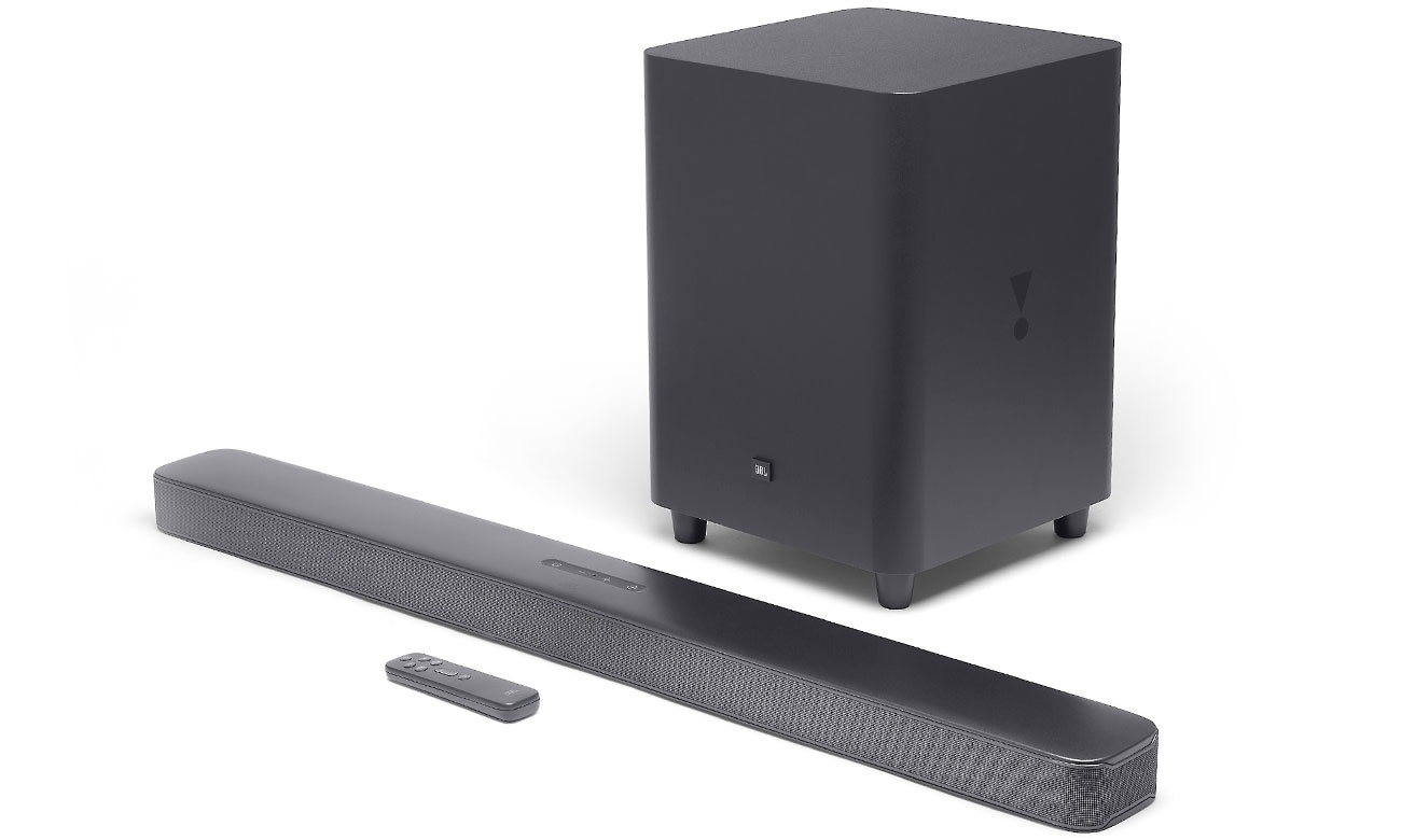 Czarna soundbar do telewizora JBL BAR 5.1 Surround