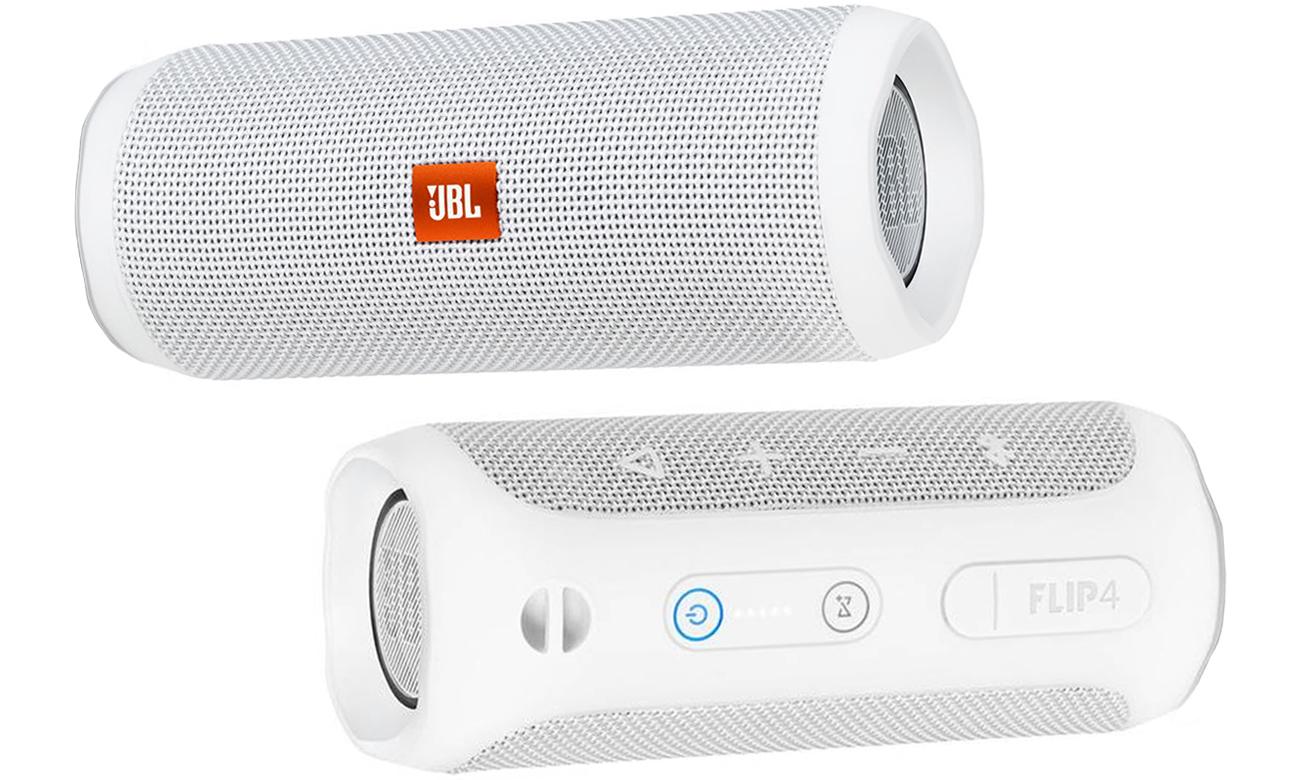 Głośnik bezprzewodowy JBL FLIP 4 Bluetooth biały