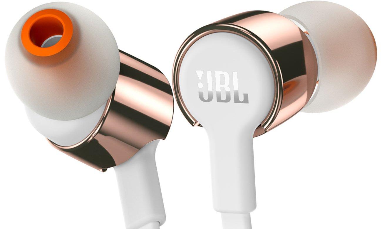 Słuchawki dokanałowe JBL T210WG