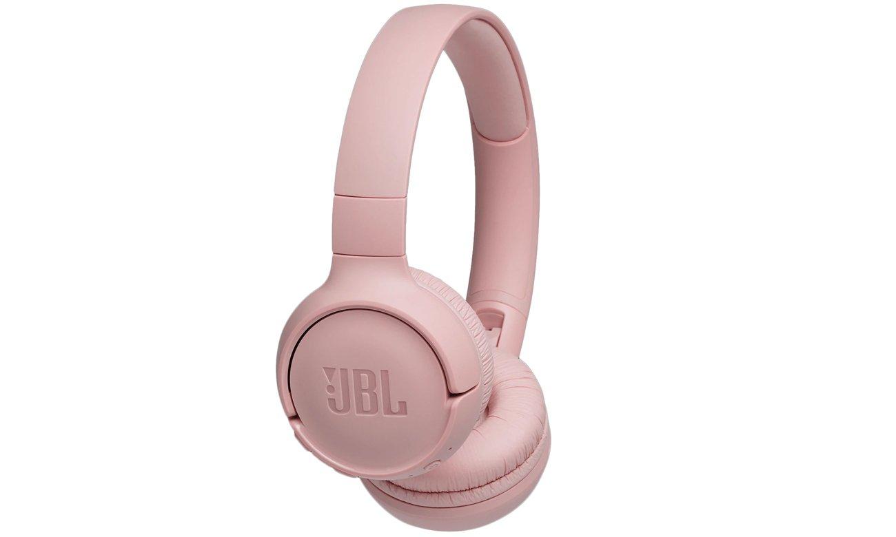 Słuchawkach bezprzewodowe JBL T500BT pink
