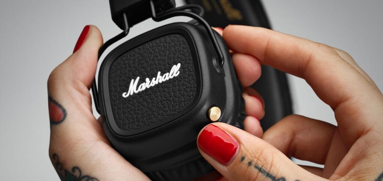 Technologia Bluetooth Marshall Major II czarne