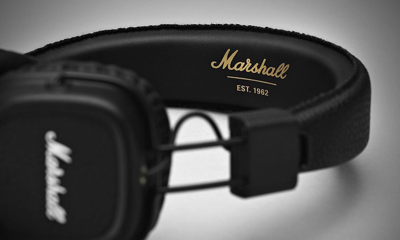 Dźwięk w słuchawka Marshall Major II BT