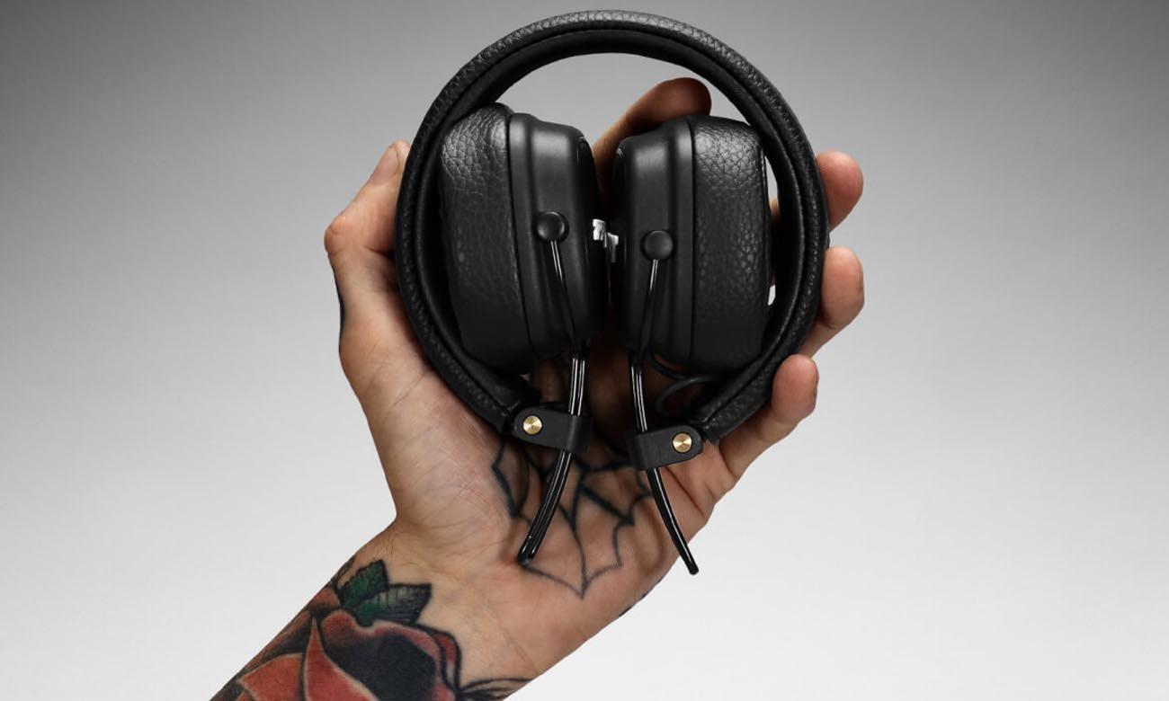 Składane słuchawki Marshall Major 3 Black
