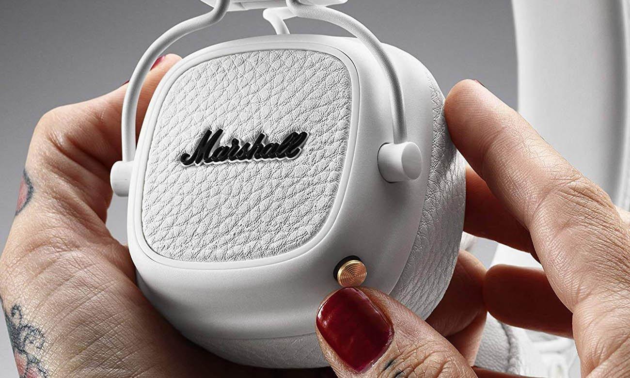 Słuchawki Bluetooth Marshall Major III białe