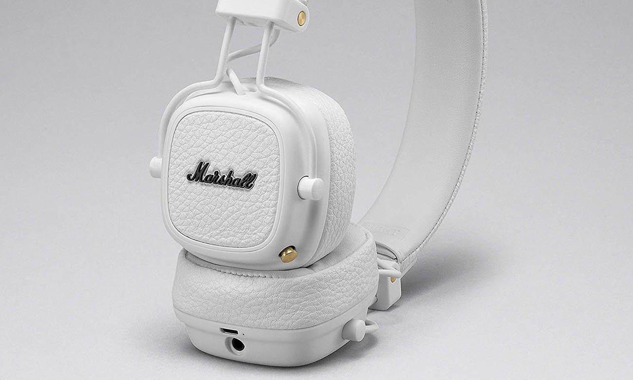 Tryb pasywny w słuchawkach bezprzewodowych Marshall Major III