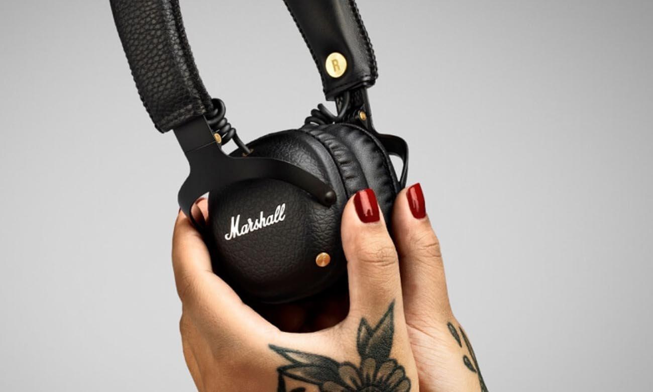Dźwięk w słuchawka Marshall Mid BT