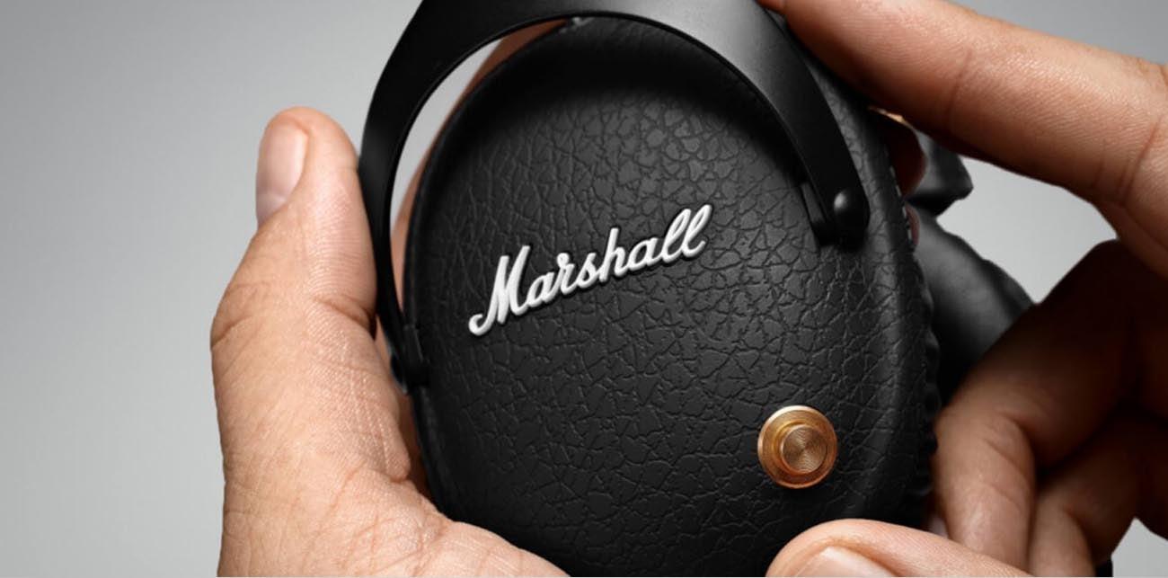 Bluetooth w słuchawkach Marshall Monitor BT Black