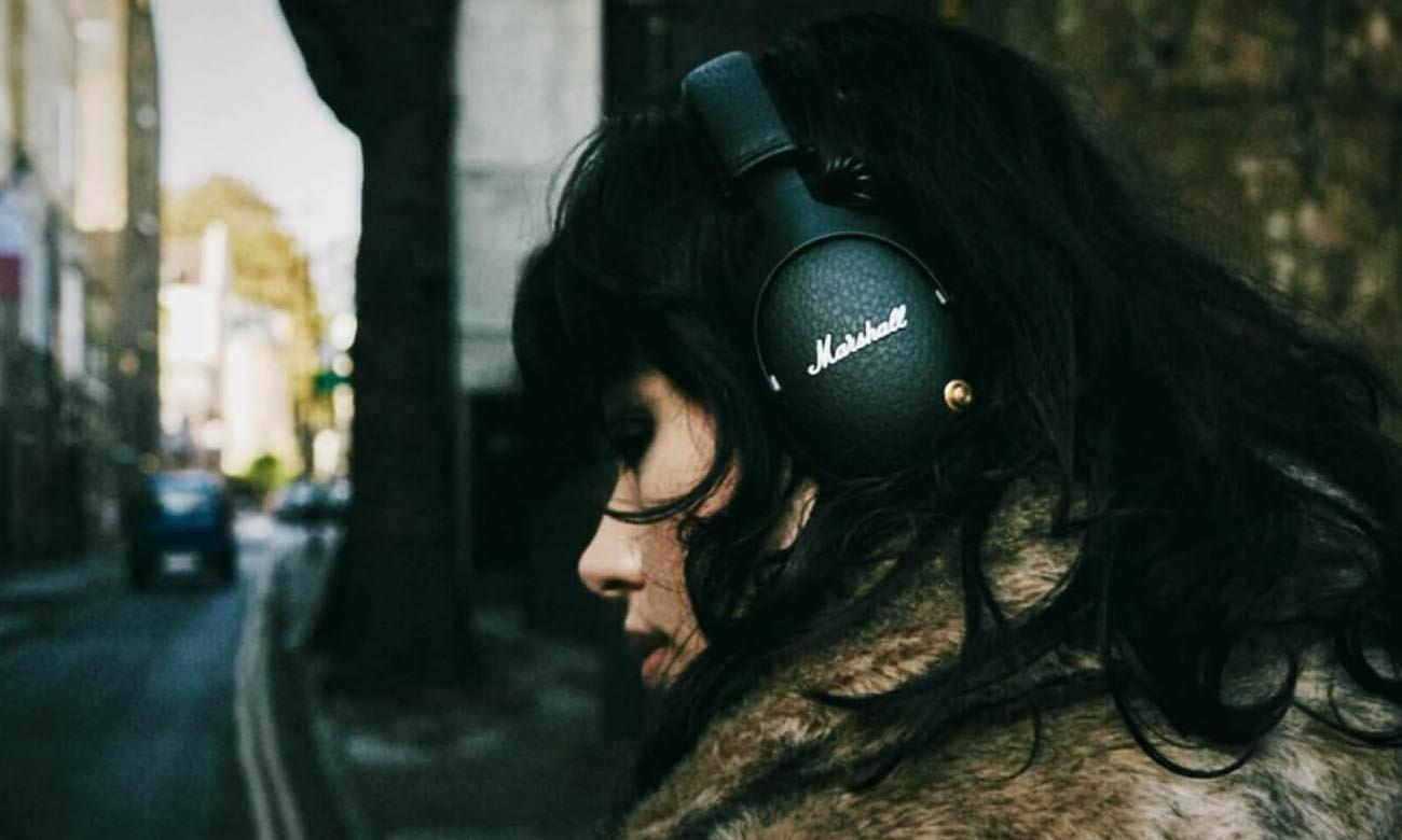 wygoda użytkowania w słuchawkach Marshall Monitor Bluetooth Black