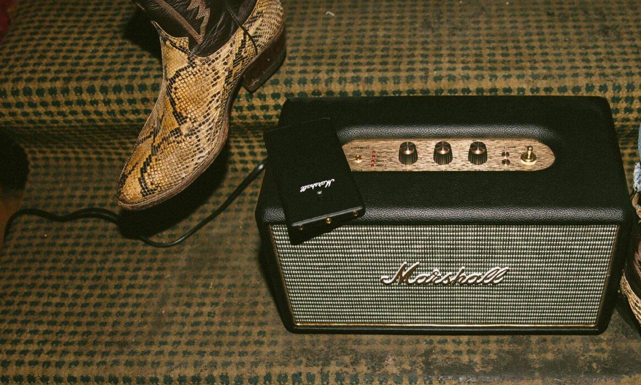 Złącza w głośniku Bluetooth Marshall Stanmore