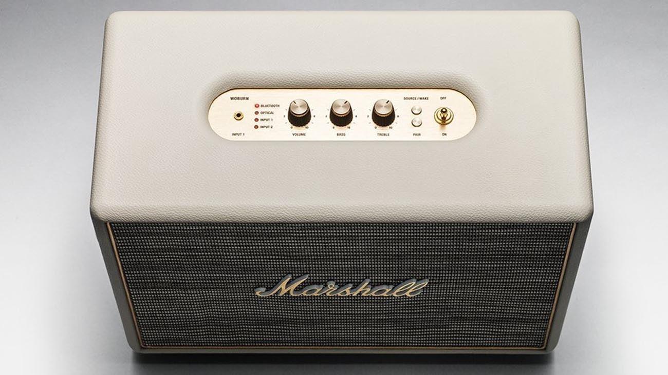 Głośnik Marshall Woburn sterowanie