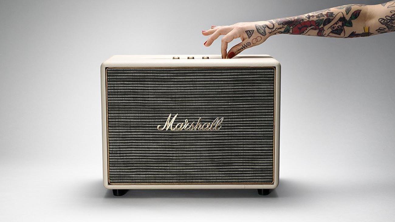 Głośnik Marshall Woburn Cream klasyczny desing