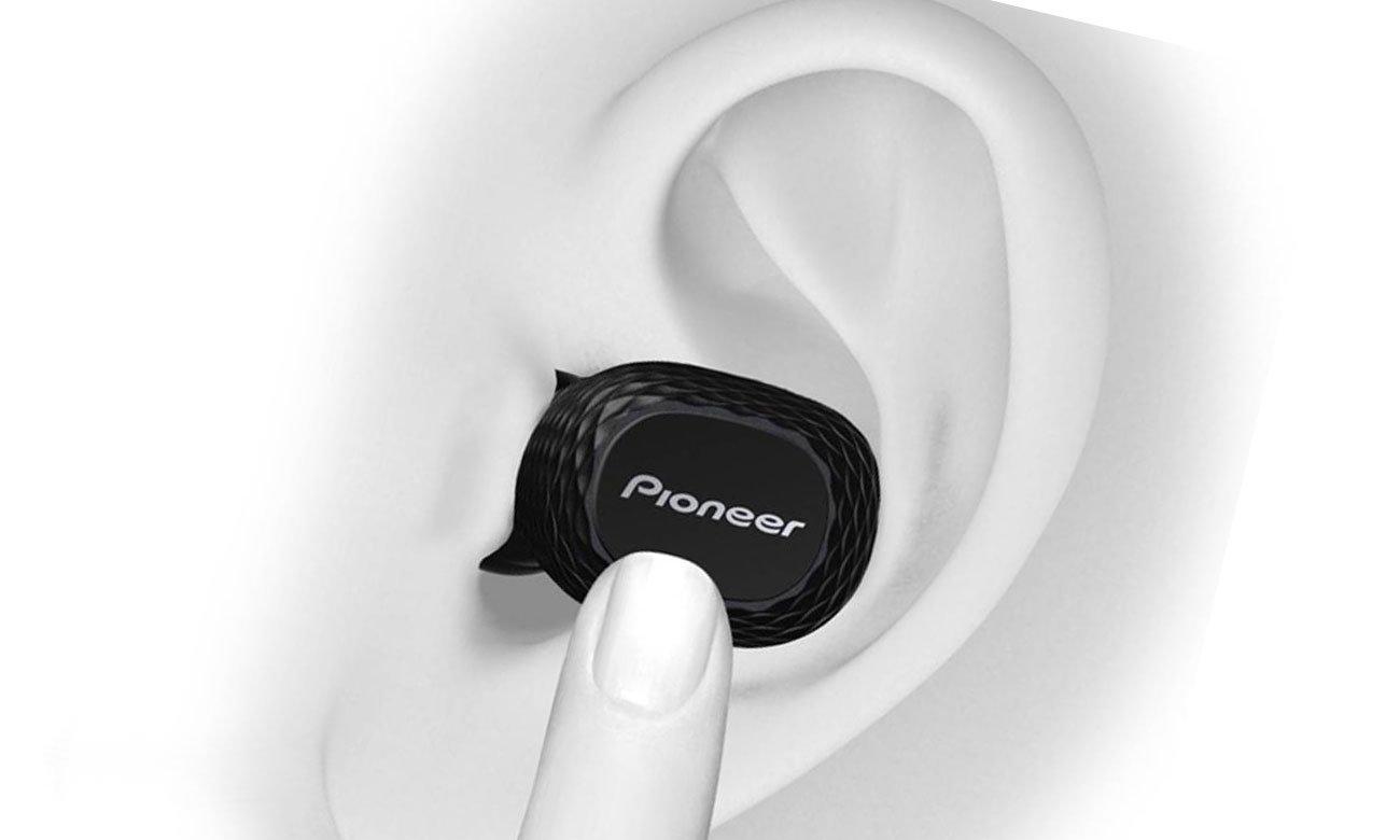 Słuchawki dokanałowe Bluetooth Pioneer SE-C8TW Czarne