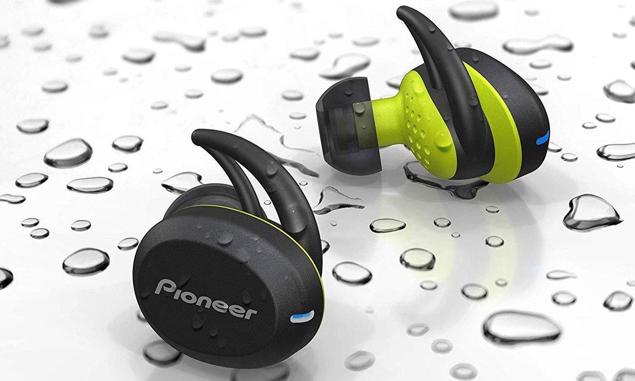 Słuchawki dokanałowe Bluetooth dla biegaczy Pioneer SE-E8TW