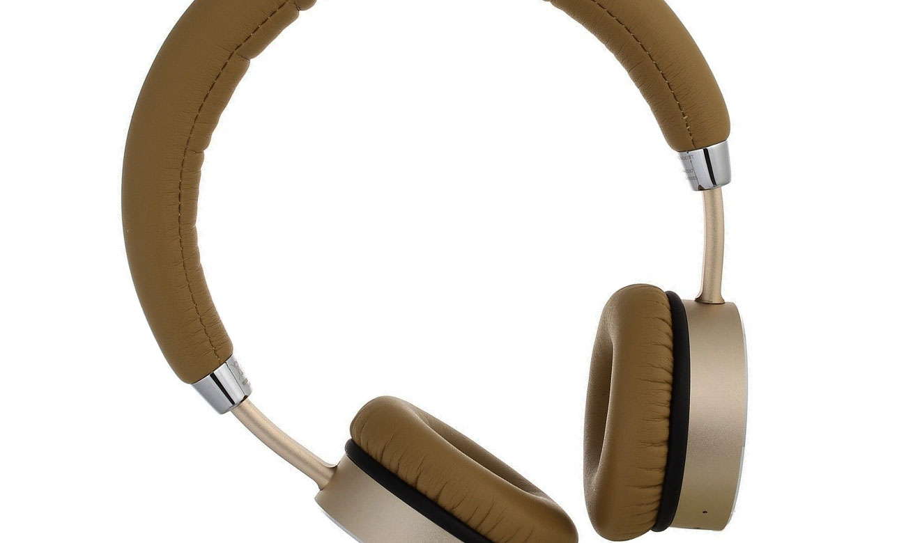 Brązowe słuchawki nauszne SE-MJ561BT-T Pioneer