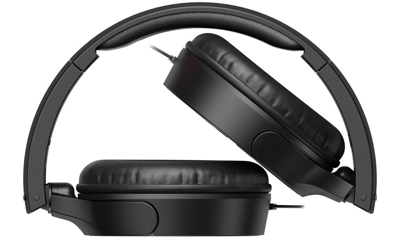 Składane słuchawki nauszne SE-MJ722T-K Pioneer czarne