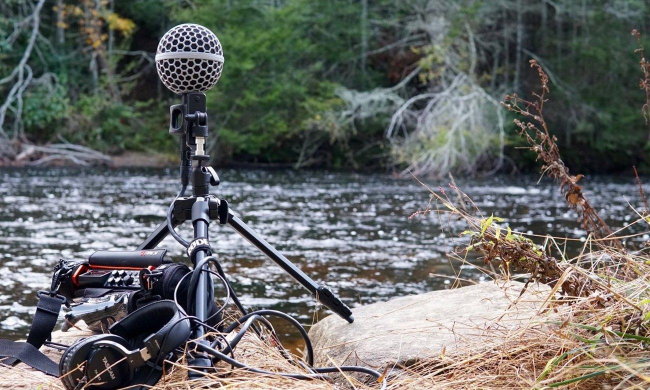 Solidne wykonanie mikrofonu Rode NT-SF1