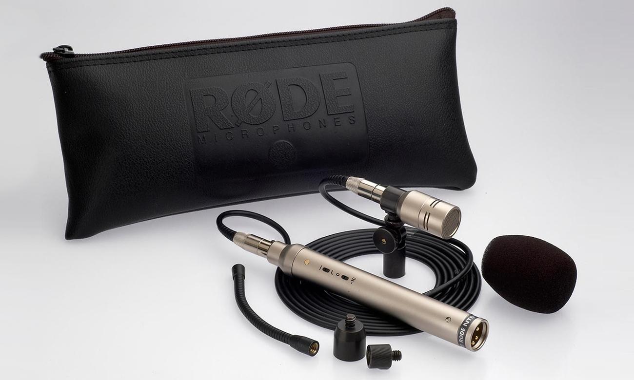 Solidne wykonanie mikrofonu Rode NT6