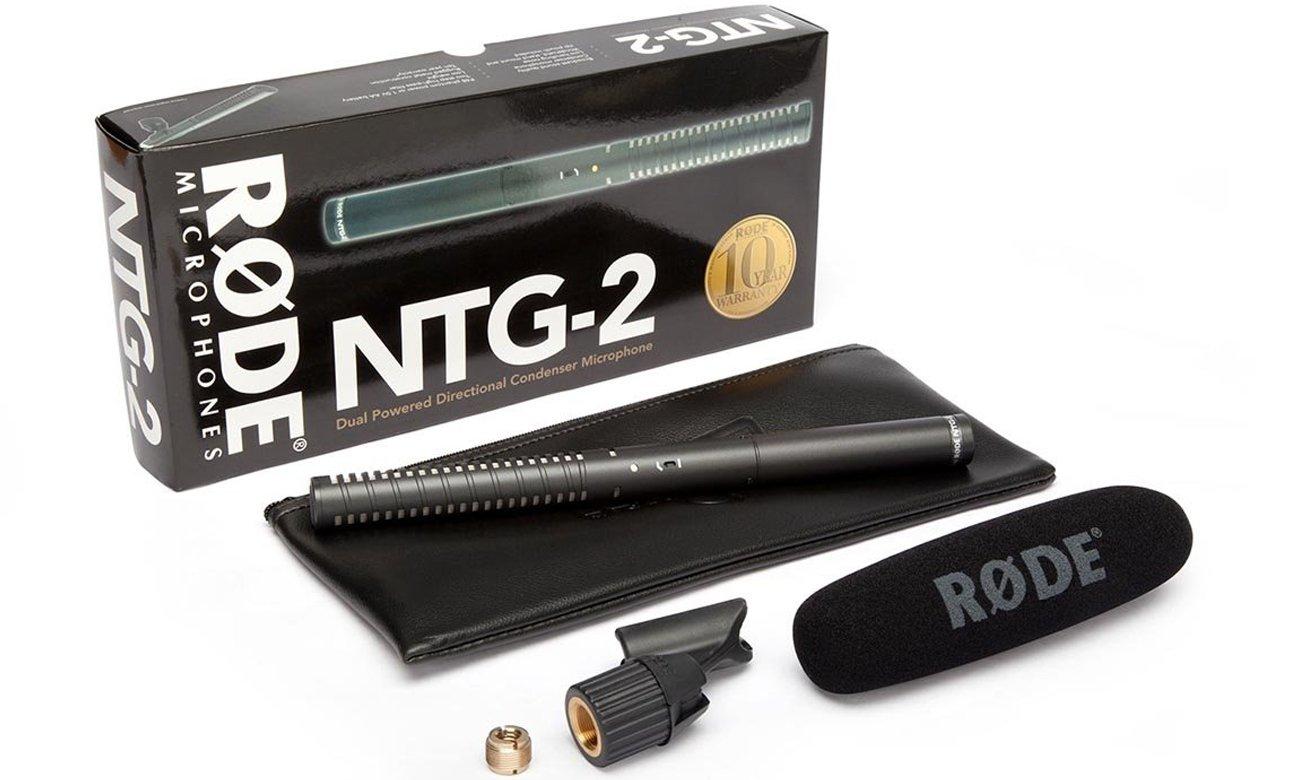 Solidne wykonanie mikrofonu Rode NT2-A
