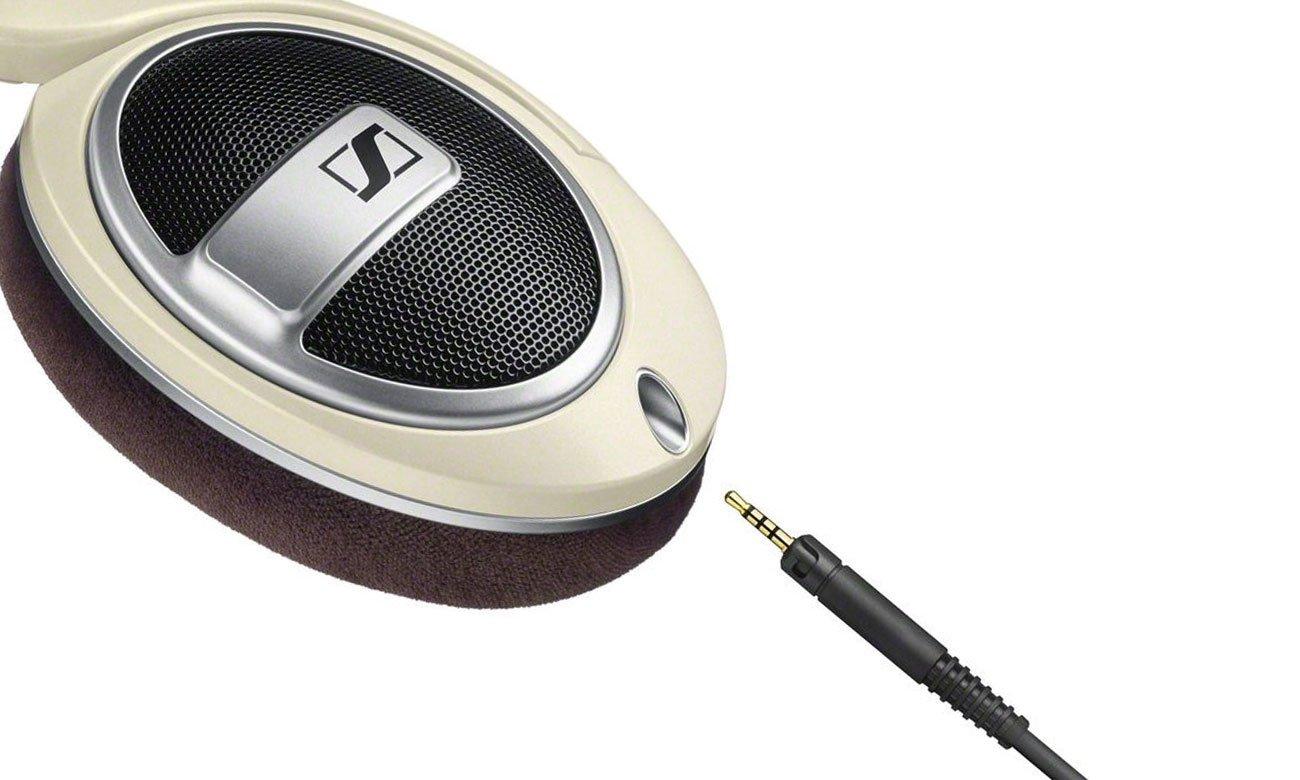 Wygodne słuchawki Sennheiser HD 599 z odpinanym przewodem
