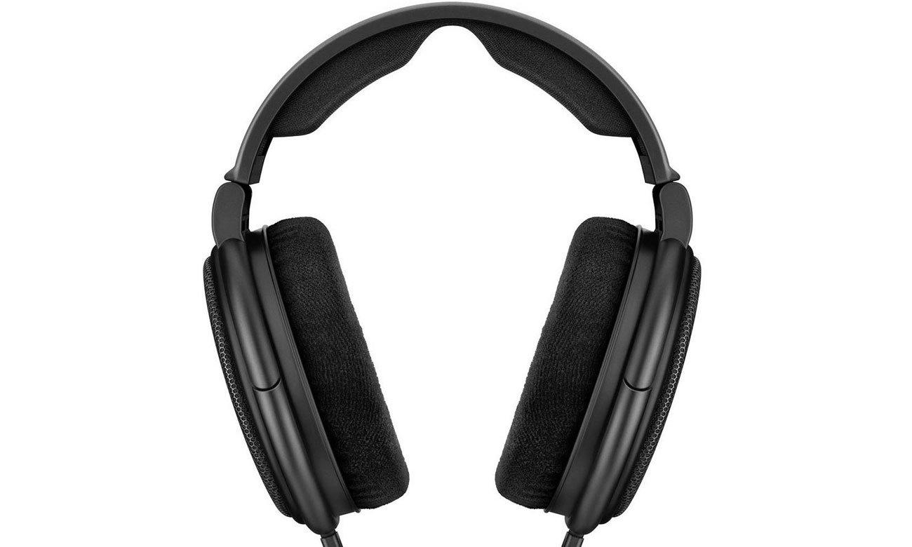 Wygodne słuchawki Sennheiser HD 660 S z odpinanym przewodem