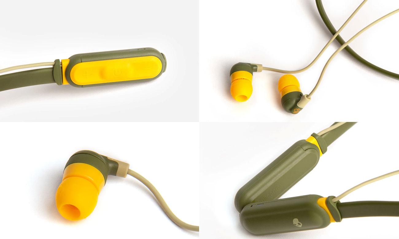 Dokanałowe słuchawki dla biegaczy Skullcandy Ink'd+ Wireless