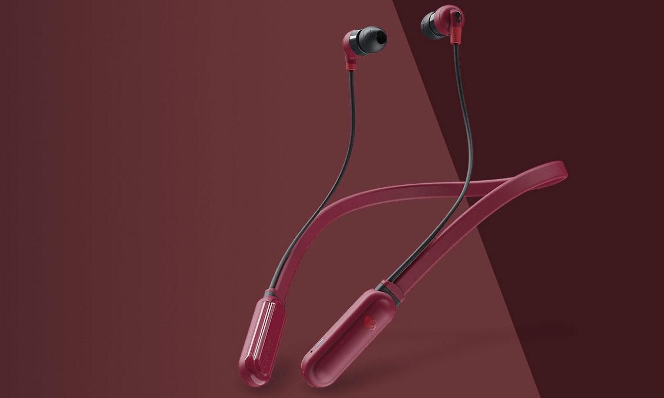 Słuchawki bezprzewodowe Skullcandy Ink'd+ Wireless Czerwony