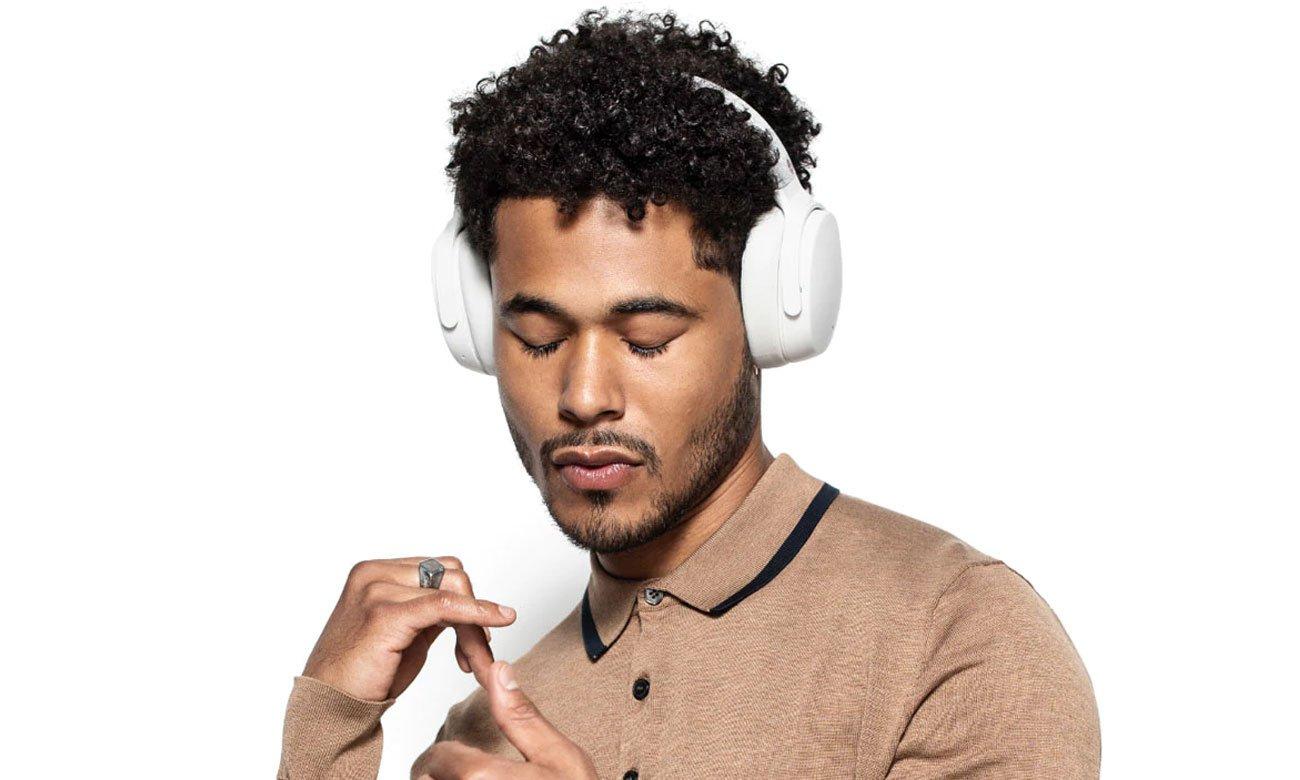Wokółuszne słuchawki bezprzewodowe Skullcandy Venue białe