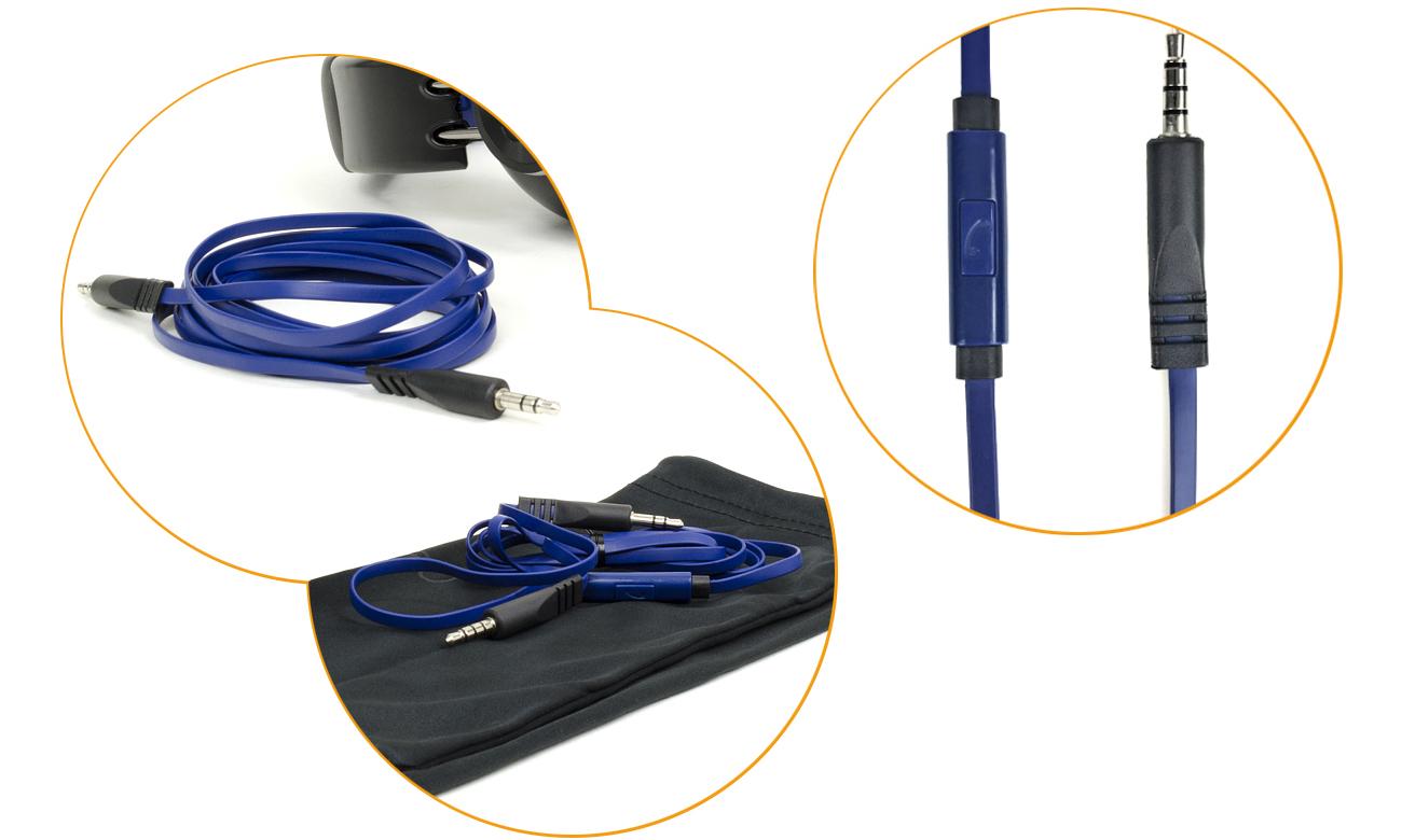 Słuchawki z mikrofonem Snab Overtone HS-42M