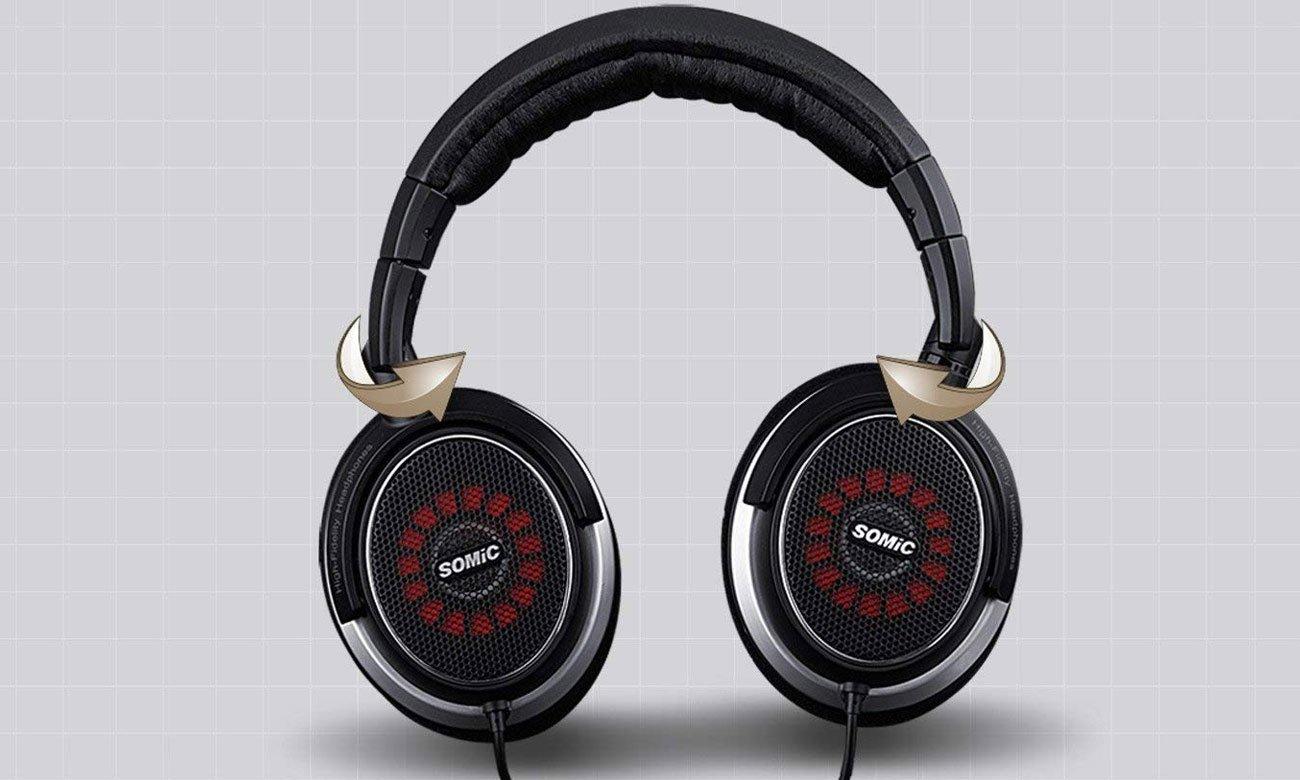 Wygodne słuchaweki do monitorowania dźwięku V2 Somic