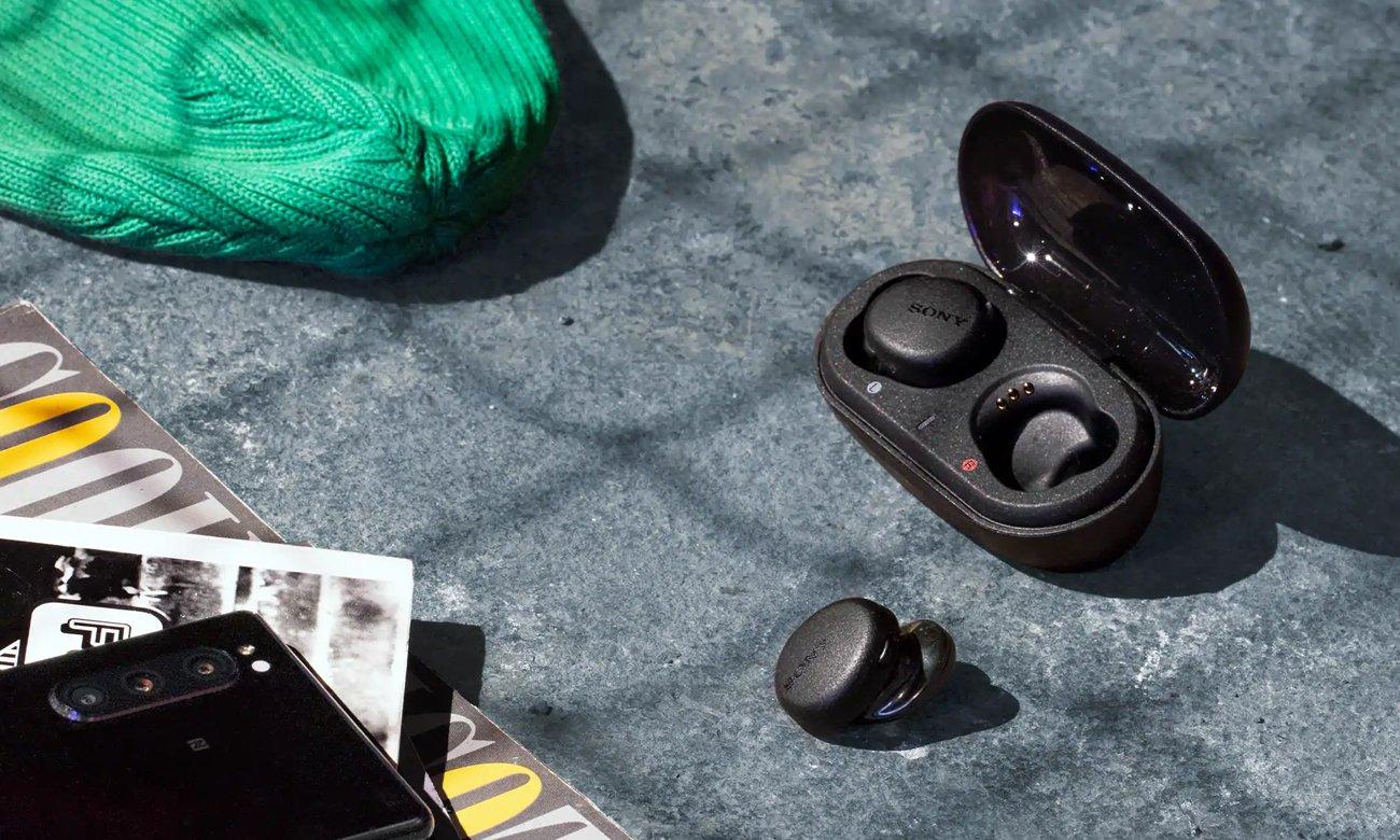 Bluetooth 5.0 w Sony WF-XB700B