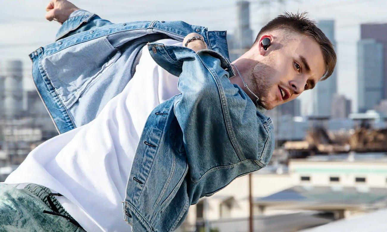 Swietne brzmienie słuchawek Sony WF-XB700L