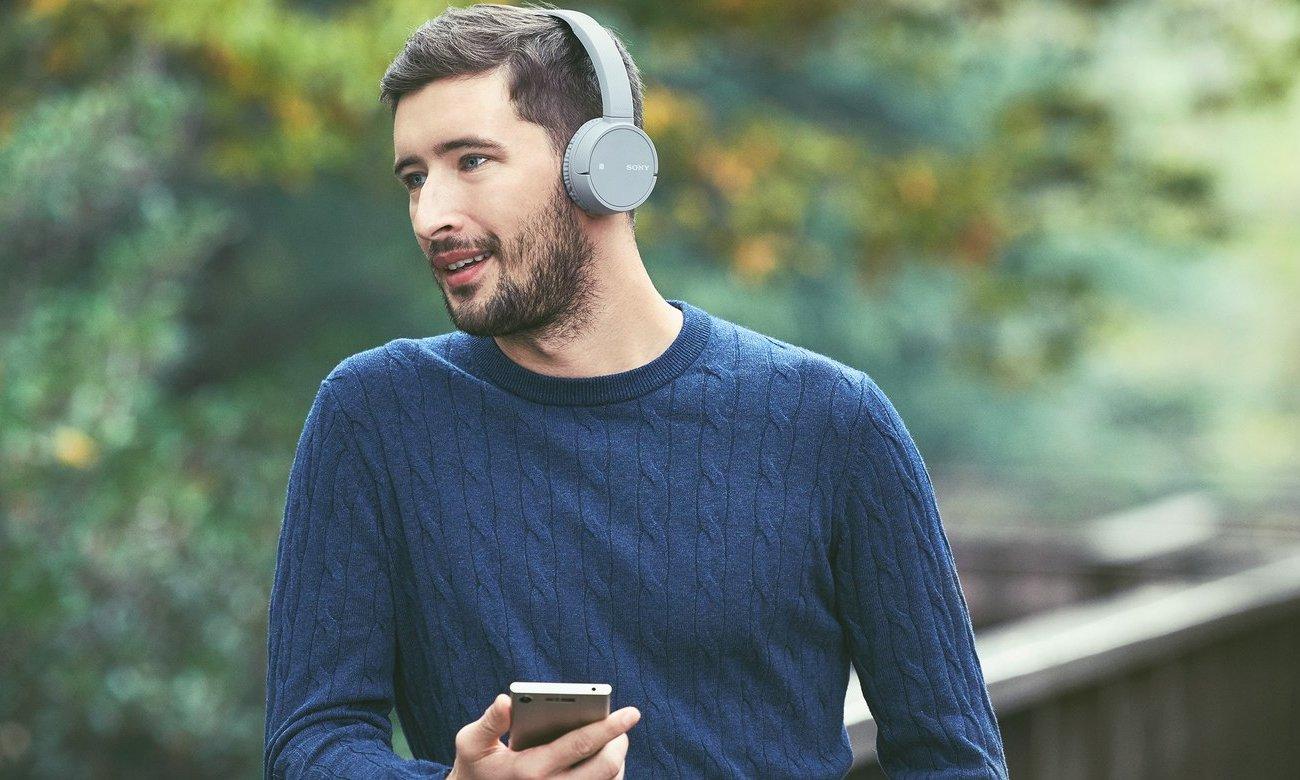 Słuchawki Bluetooth z długim czasem odtwarzania Sony WH-CH500