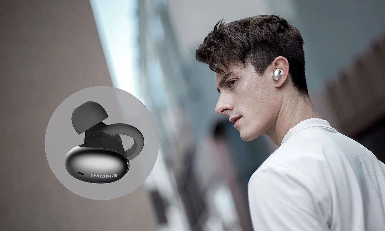Bezprzewodowe słuchawki dokanałowe 1more Stylish