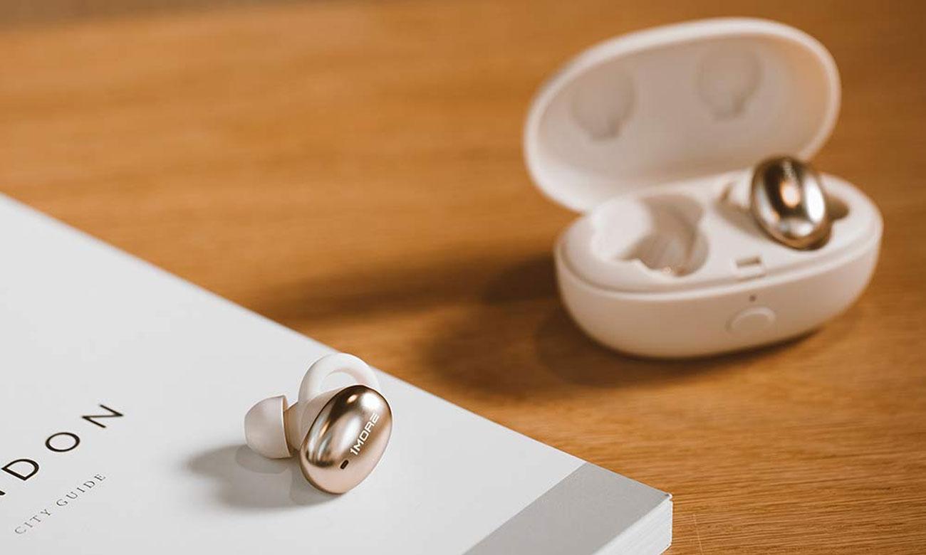 Słuchawki True Wireless 1more E1026BT Stylish Złote