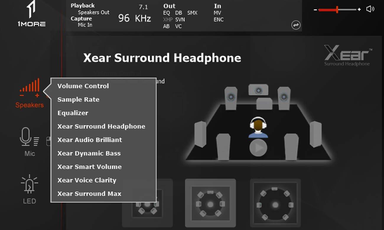 Słuchawki gamingowe 1MOREH1005 Spearhead VR