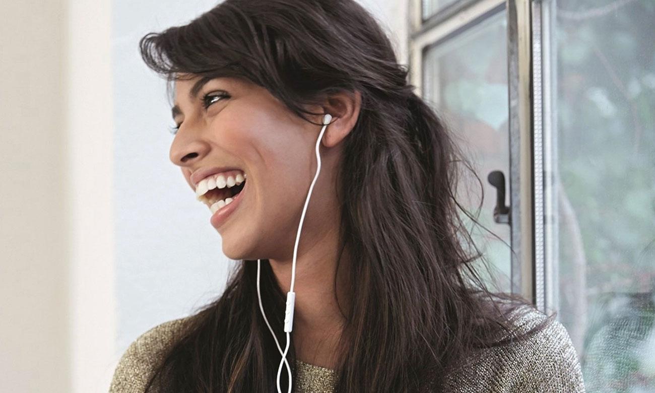 Wysoka jakość wykonania słuchawek A-Jays Four+ iOS