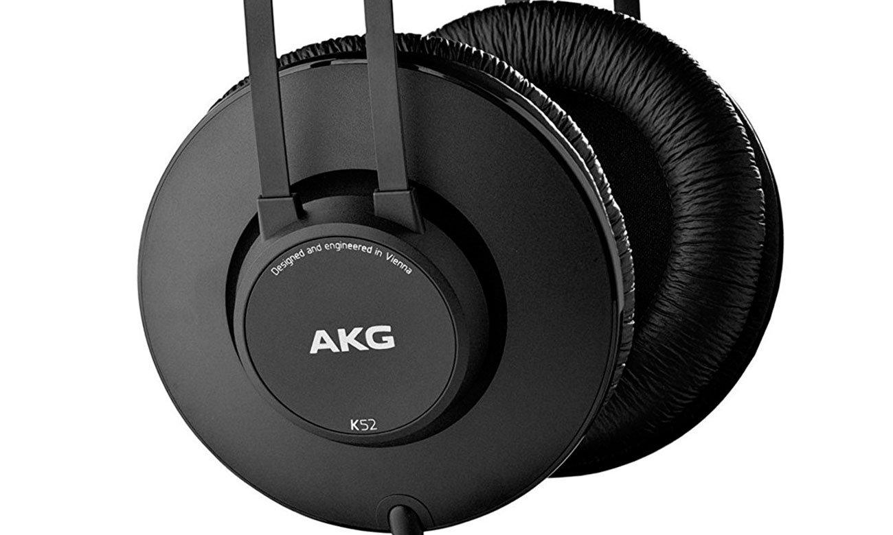 Wysokiej klasy słuchawki AKG K52