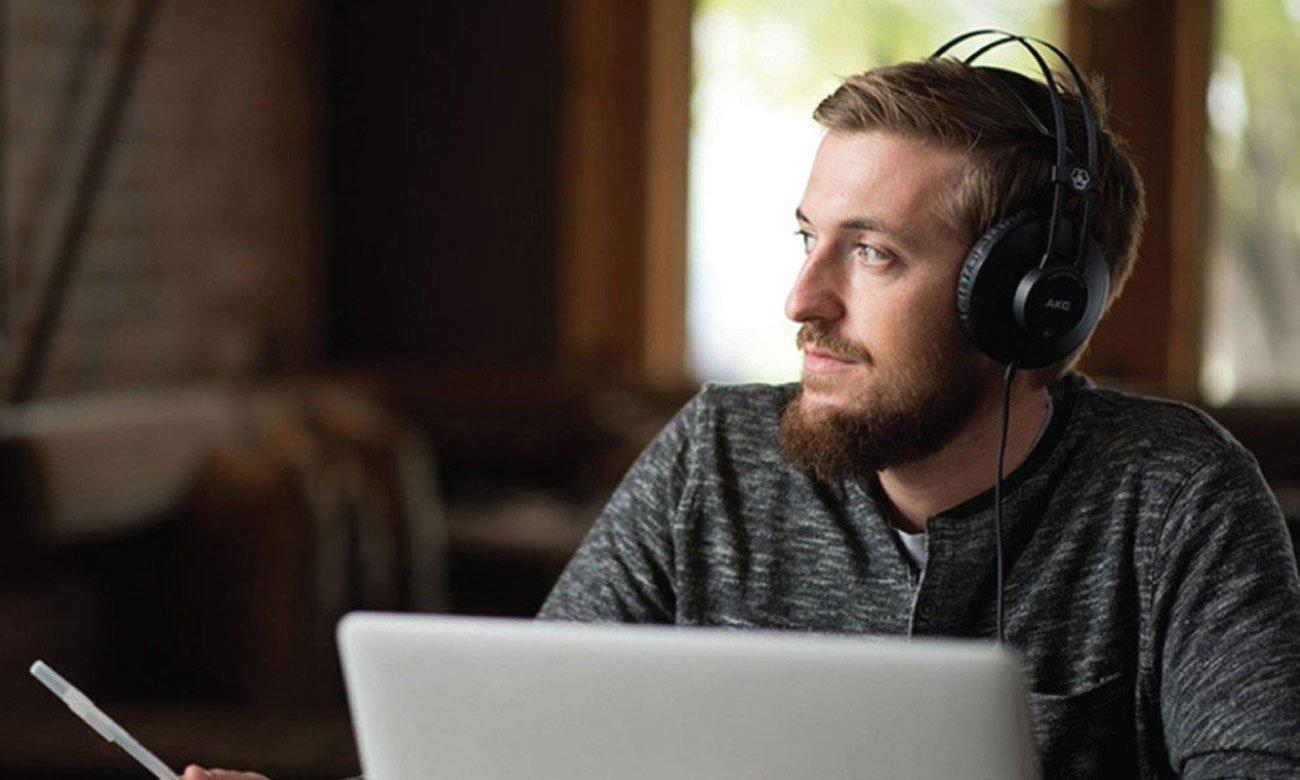 Słuchawki do odtwarzacz MP3 AKG K52